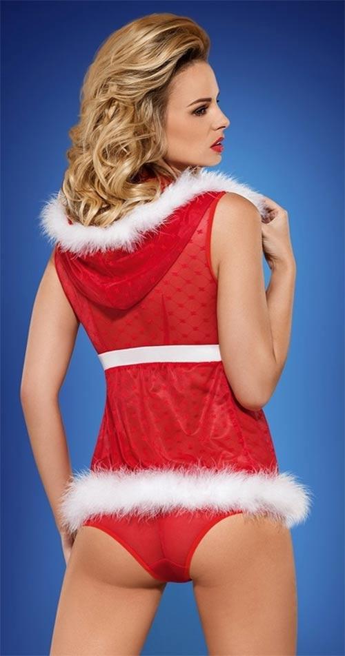 Erotikus karácsonyi jelmez és bugyi