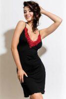 Luxus női camisole Rozalia – Fekete